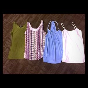 Bundle of 4 Small Tank Tops